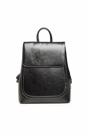 Bronson Alcott Vegan Leather Backpack Slide 1