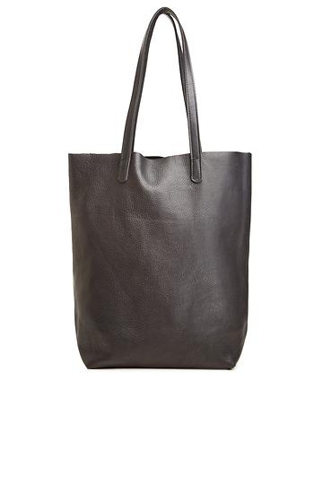 Baggu Basic Leather Tote Slide 1