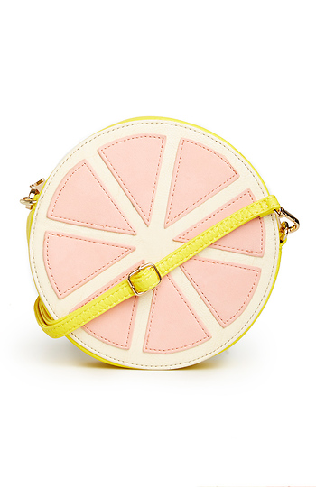 Grapefruit Cross Body Purse Slide 1