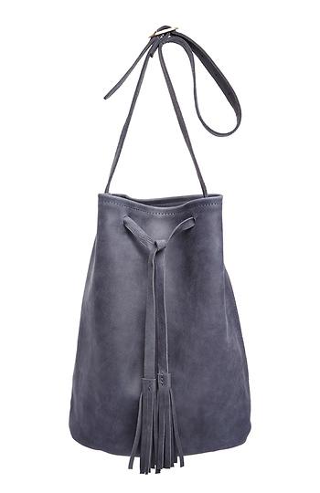Jesslyn Blake Leather Bucket Bag Slide 1