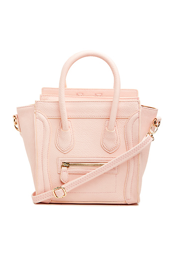 DAILYLOOK Mini Structured Handbag Slide 1