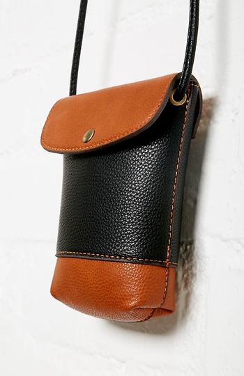 Dean Mark Mini Leather Bag Slide 1
