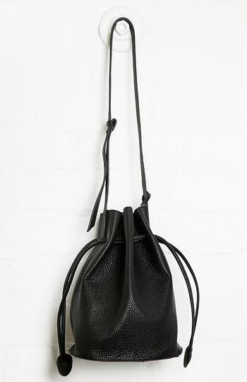 Remi & Reid Leather Bucket Bag Slide 1