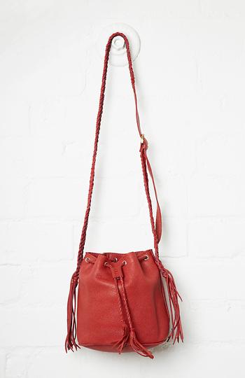 Stela 9 Leather Quixote Small Bucket Bag Slide 1