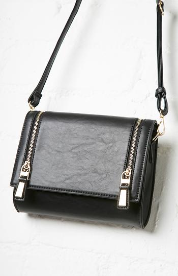 Alexander Stamos Vegan Leather Crossbody Bag Slide 1