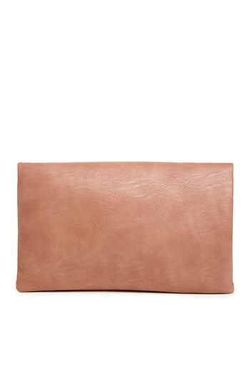 The Miranda Vegan Leather Day Clutch Slide 1