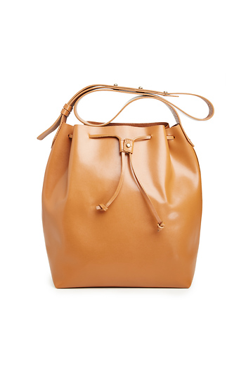 Kelsi Dagger Leather Wythe Bucket Hobo Bag Slide 1
