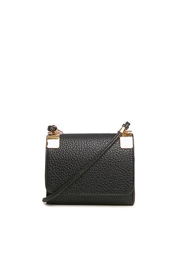 Stefani Vegan Leather Mini Bag Slide 1