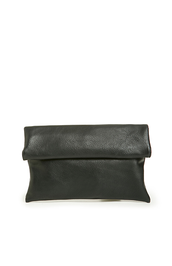 Tony Perkis Vegan Leather Fold Over Clutch Slide 1