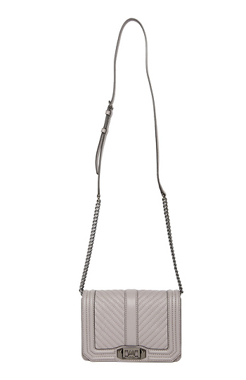 Rebecca Minkoff Chevron Quilted Crossbody Slide 1
