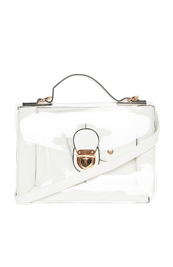 Clearly Chic Satchel Slide 1