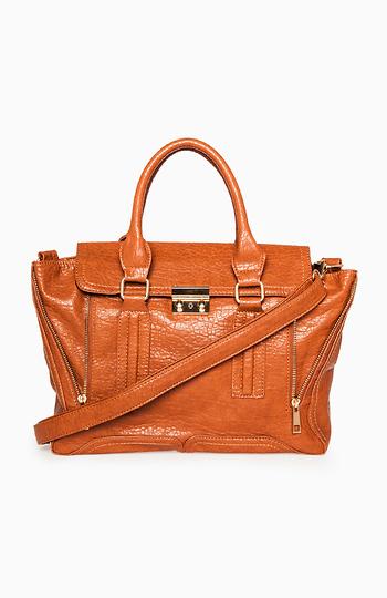 Zippered Shape Shifting Handbag Slide 1