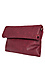 Langston Vegan Leather Double Fold Over Clutch Thumb 3