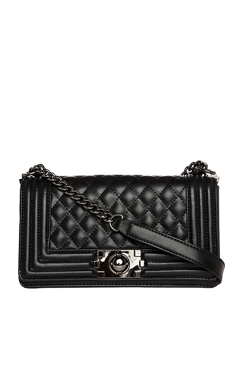 DAILYLOOK Quilted Vegan Leather Purse Slide 1