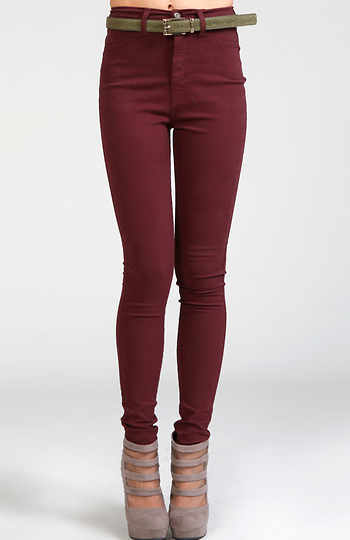 High Waist Skinnies Slide 1