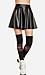 Simple Leatherette Circle Skirt Thumb 1