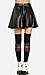 Simple Leatherette Circle Skirt Thumb 2