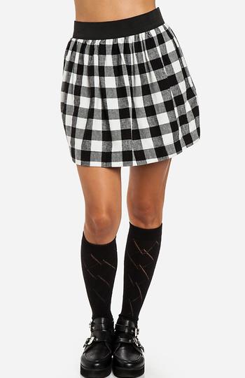 Plaid Flannel Skirt Slide 1