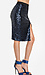 Sequined Pencil Skirt Thumb 3