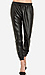 Lucca Couture Leatherette Track Pants Thumb 1