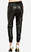Lucca Couture Leatherette Track Pants Thumb 2
