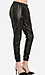 Lucca Couture Leatherette Track Pants Thumb 3