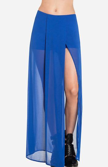 Sheer Maxi Skirt Slide 1