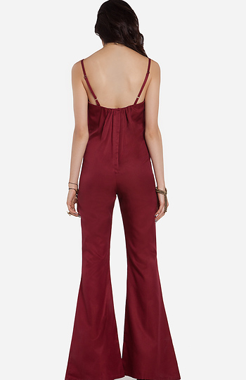 037340d32a7 Stone Cold Fox Jerry Jumpsuit in Red