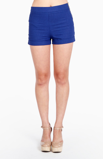 Dress Me Up Linen Shorts Slide 1