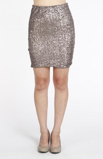 Classy Sequin Skirt Slide 1