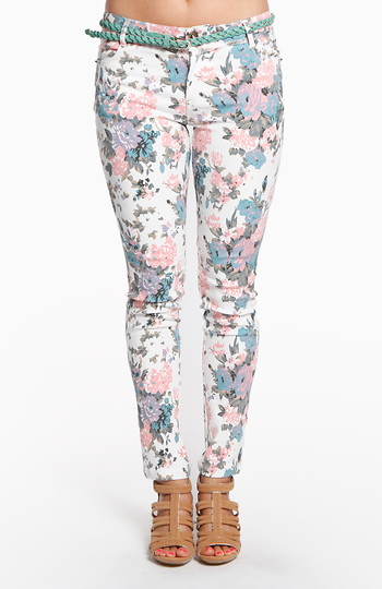 Country Floral Jeans Slide 1
