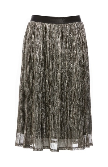 Greylin Muse Metallic Skirt Slide 1