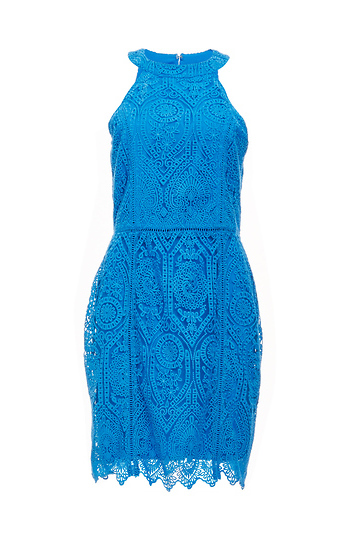 Adelyn Rae Moroccan Embroidery Lace Dress Slide 1