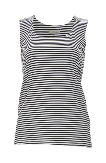 Jonesy Jane Basic Striped Stretch Tank Slide 1
