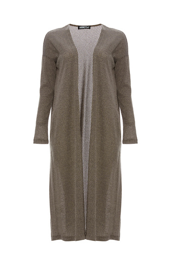 Marian Sweater Knit Long Cardigan Slide 1