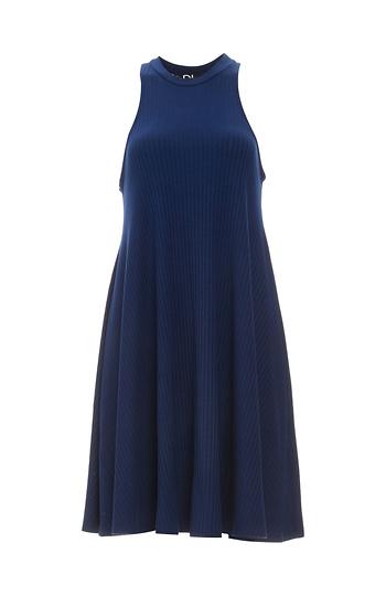 Diane Ribbed Knit Easy Dress Slide 1