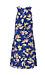 Paradise Wild Flower Mock Neck Dress Thumb 2