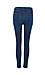 Just Black Aubrey High Waist Knee Slit Skinny Jeans Thumb 2
