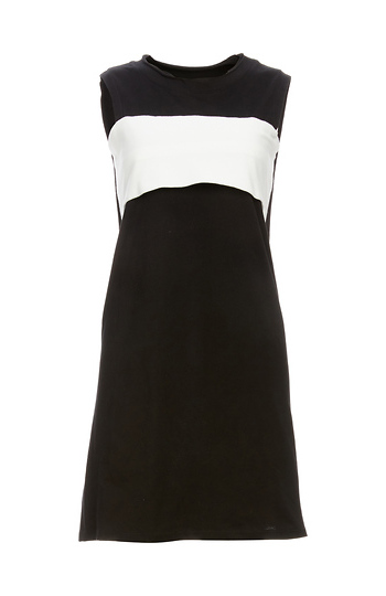 Stan Colorblock and Cutout Knit Dress Slide 1