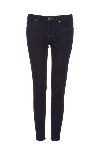 Just Black Karly Mid Rise Cropped Skinny Jeans Slide 1
