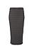 Sanctuary Stripe Knit Metropolitan Midi Skirt Thumb 1
