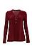 Winona Lace Up Long Sleeve Knit Top Thumb 1
