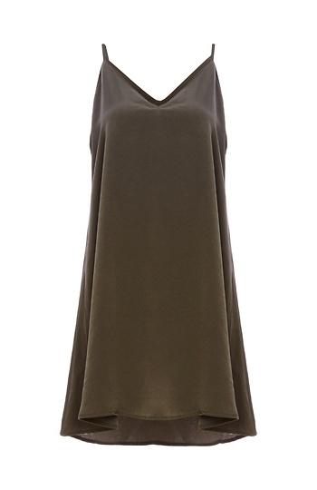 Sasha Satin Slip Dress Slide 1