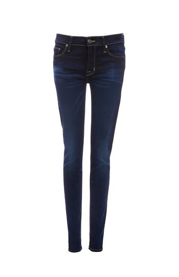 Hudson Nico Midrise Skinny Jeans Slide 1