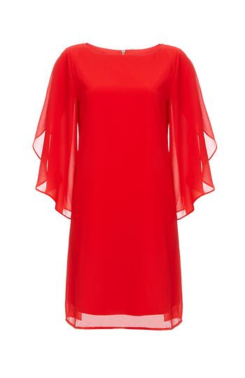 Tulip Sleeve Dress Slide 1