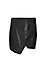 Raven Pleather Asymmetric Skirt Thumb 1