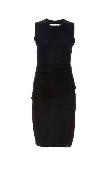 Susana Monaco Layer Ruched Waist Sweater Dress Slide 1