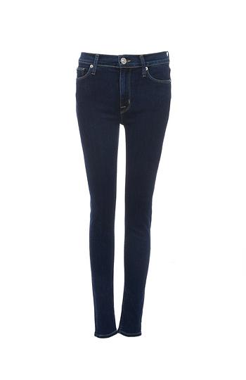 Hudson Barbara Unruly High Waist Super Skinny Jeans Slide 1