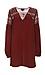 Mirabelle Lace Shoulder Tunic Dress Thumb 1
