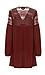 Mirabelle Lace Shoulder Tunic Dress Thumb 2